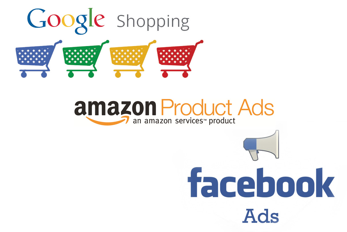 Comparatif Google Shopping, Amazon Product Ads et Facebook Product Ads